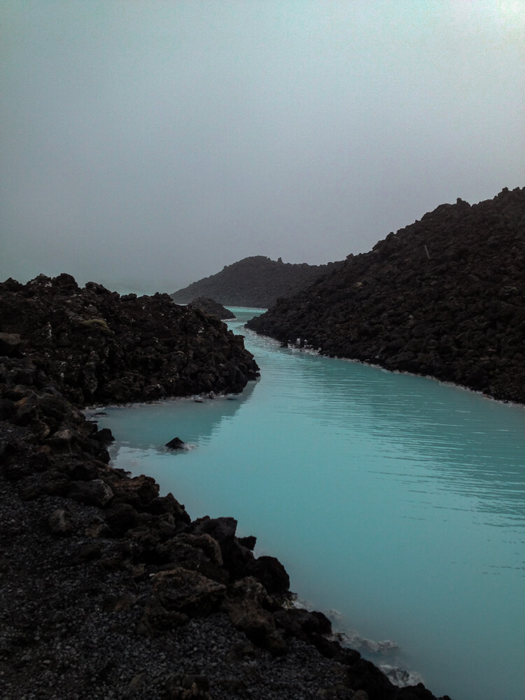 travel images of the Blue Lagoon in Iceland