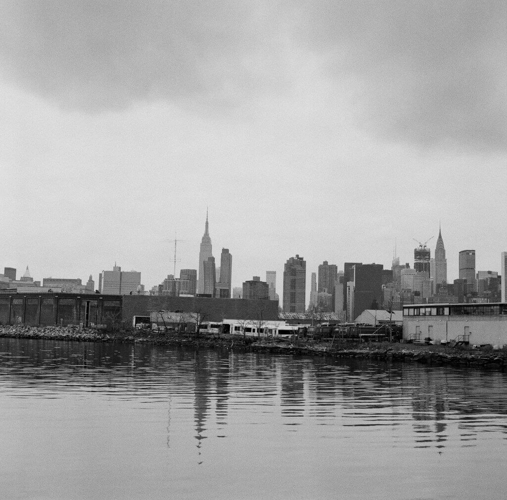 Visiting Greenpoint in Brooklyn using Ilford HP5plus black and white film